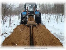 Трактор цепной колесный ЭТЦ-1609-03
